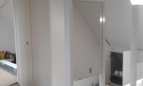 integreren van een badkamer op de zolderverdieping